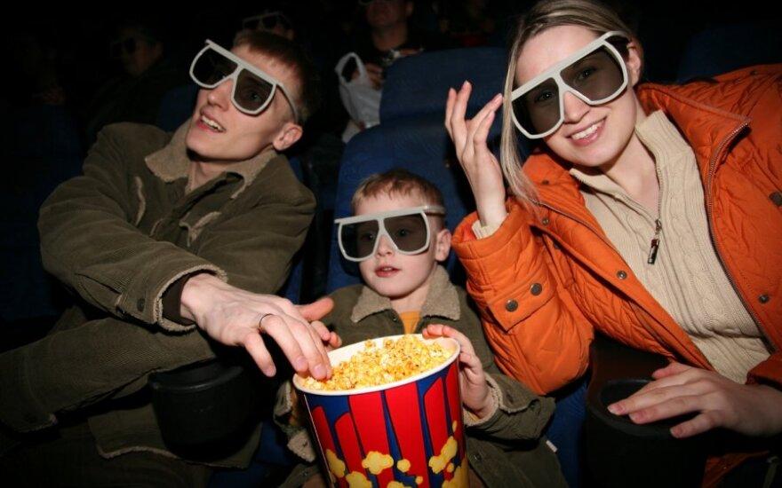 Vilniaus kino teatrai skatins laiką leisti su šeima