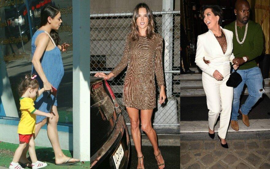 Mila Kunis, Alessandra Ambrosio, Kris Jenner