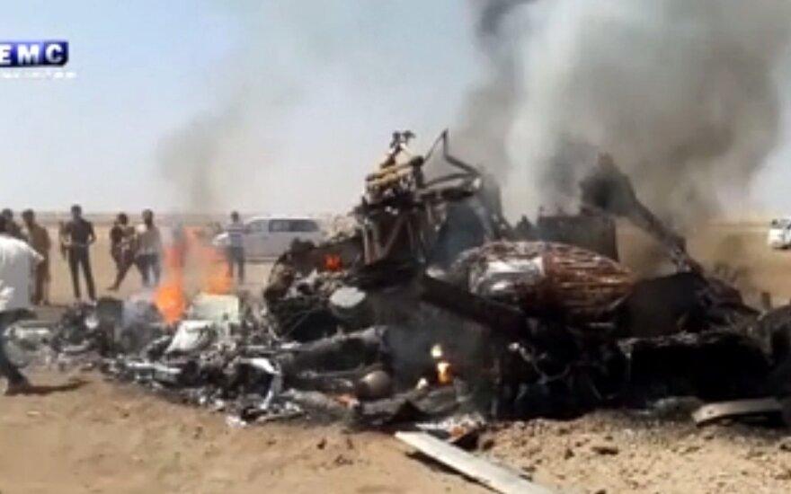 Numušto Rusijos sraigtasparnio istorijoje veriasi spragos: rusai turi ką slėpti