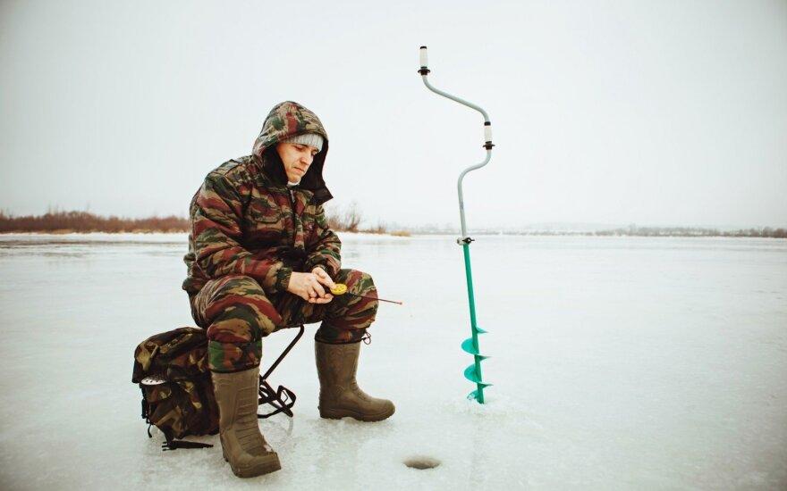 Žuvingi ežerai, kurie žvejų laukia tik žiemą