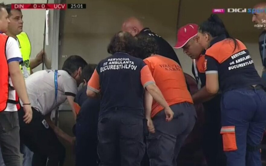 Rumunijoje rungtynių metu lietuvio trenerį ištiko širdies smūgis