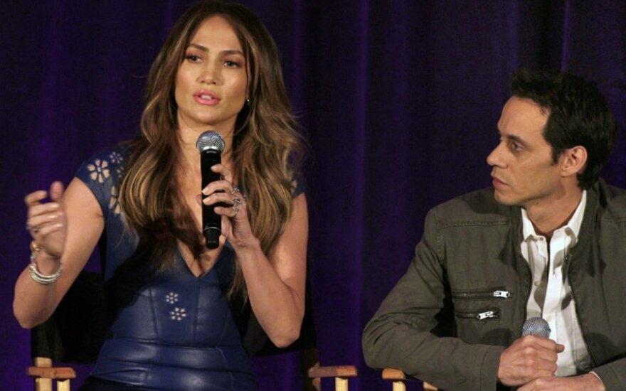 Jennifer Lopez ir Marc'as Anthony