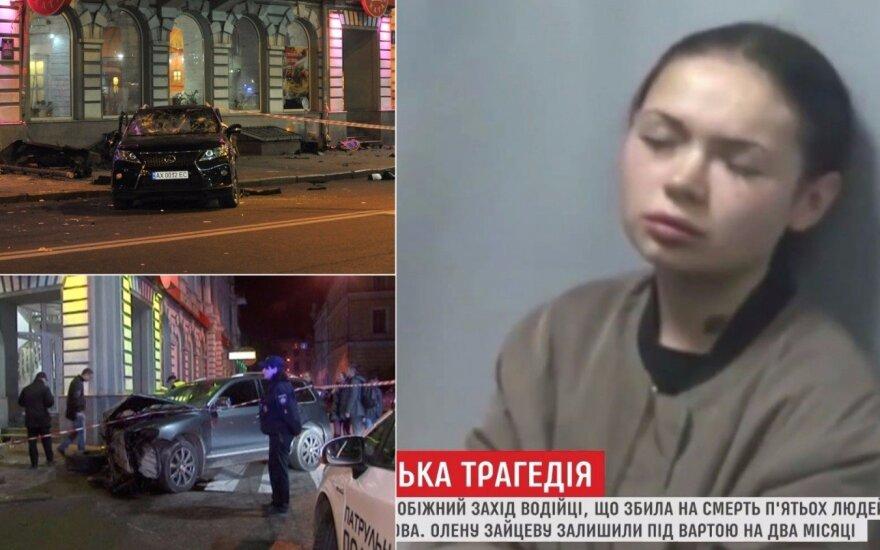 Kraupios avarijos Charkove byla pasiekė teismą: išgirdo, ką milijonieriaus įdukra sakė iškart po tragiško įvykio