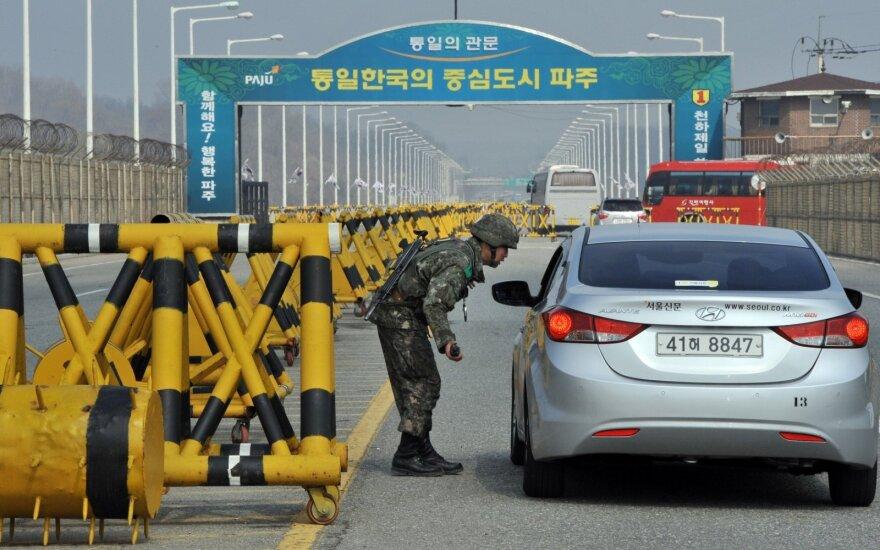 KCNA: atšauktas Šiaurės Korėjos pasienio mieste galiojęs karantinas