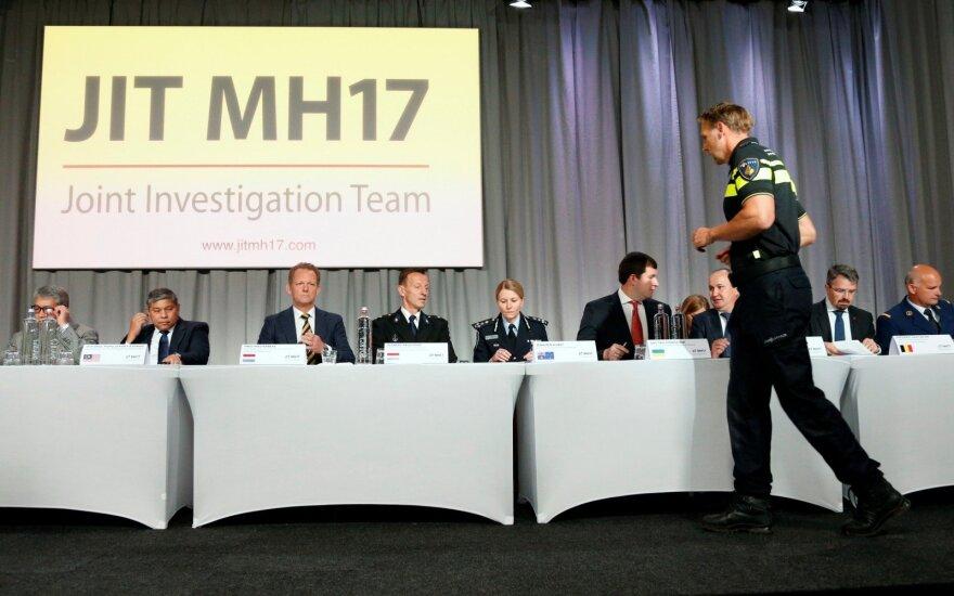 URM: Lietuva remia tyrimą dėl MH17 lėktuvo numušimo ir ragina Rusiją bendradarbiauti