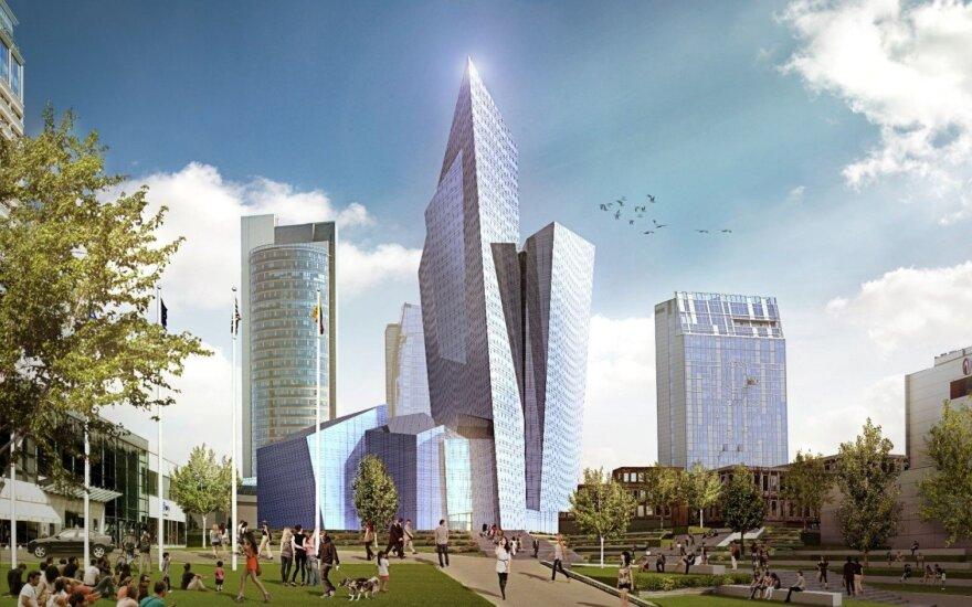 Daniel Libeskind suprojektuotas kompleksas