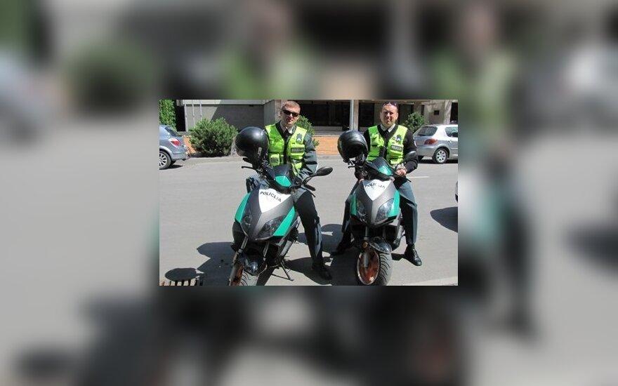 Policijos motoroleriai