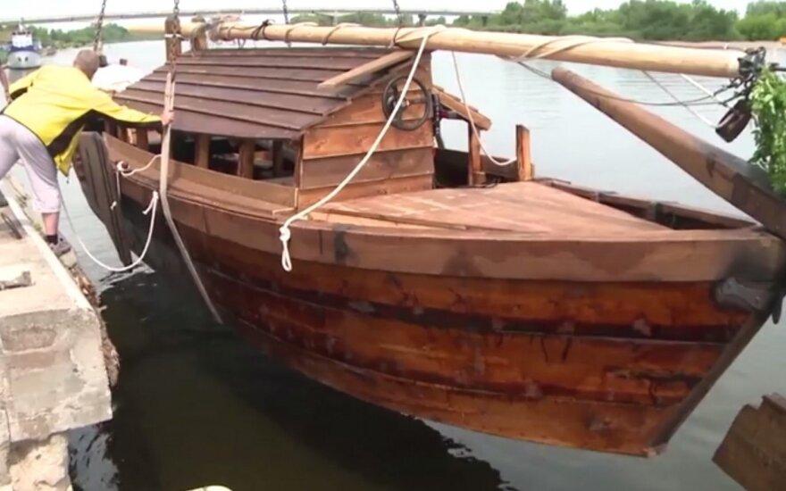 """E. Jakilaitis pasidalino, kaip atrodys """"Nacionalinei ekspedicijai"""" pastatytas laivas"""