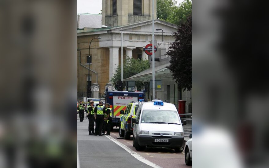 sprogimas Londone, liepos 21 d.