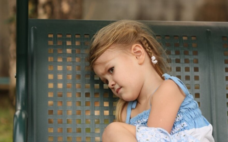 Tai, dėl ko jaudinasi vaikai, susiję su jų amžiumi