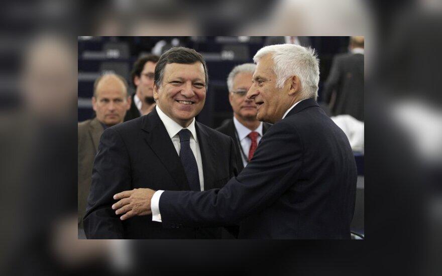 Jose Manuel Barroso ir Jerzy Buzek