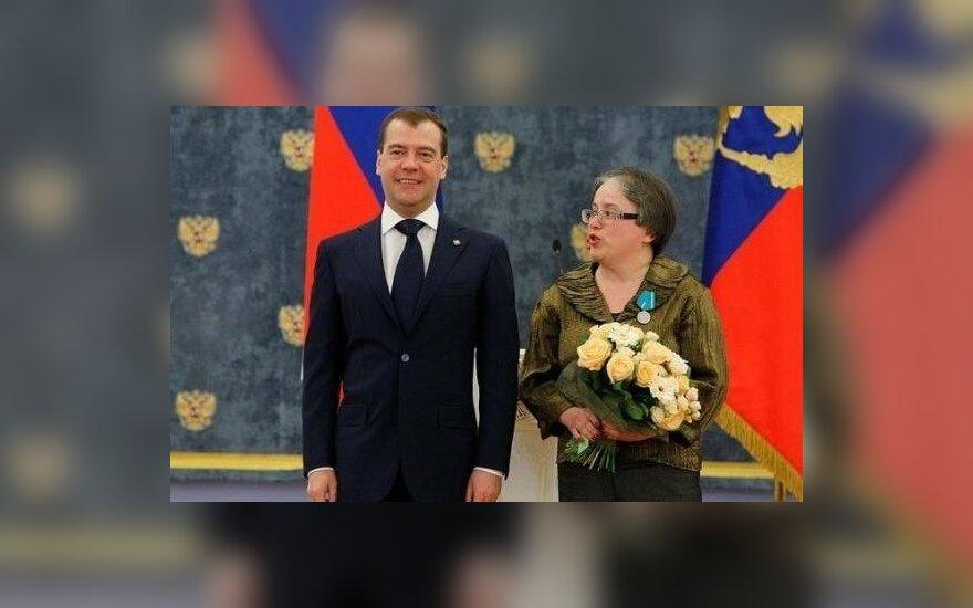 D. Medvedevas ir E. Kanaitė