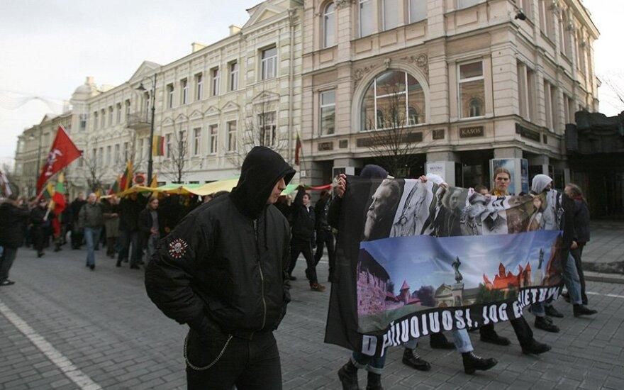 44 proc. gyventojų mano, kad Kovo 11-osios nacionalistų eitynės daro gėdą Lietuvai