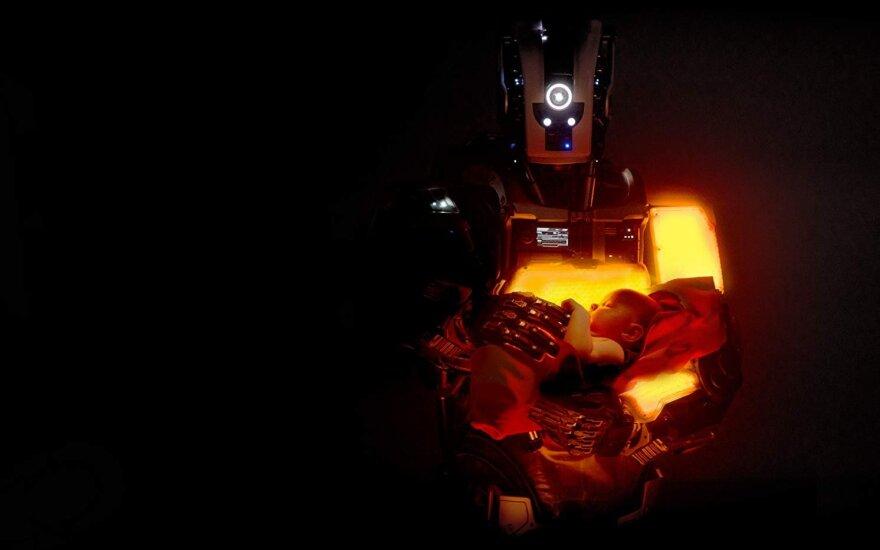 """Kadras iš filmo """"Roboto vaikas"""""""