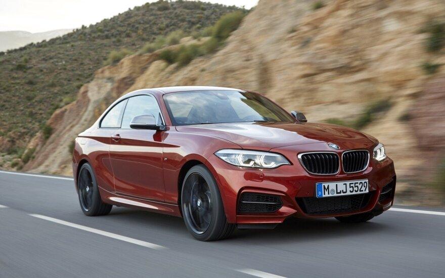 Modernizuotas 2 serijos BMW kupė