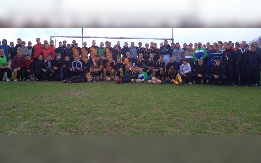 Lietuvos regbio-7 lygos jaunimo čempionato dalyviai