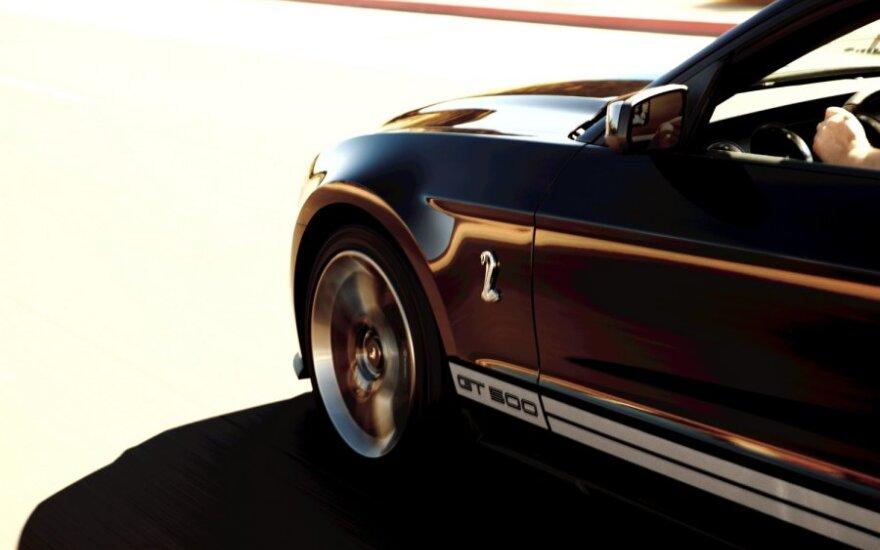 Ratas, automobilis, mašina