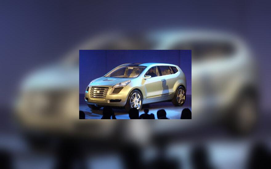 """General Motors"" pristato naują vandenilinį modelį ""Sequel"""