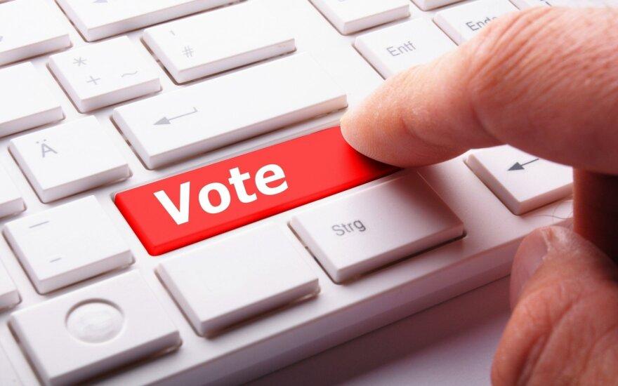 Krašto apsaugos ministerija el. balsavimą siūlo išbandyti seniūnaičių rinkimuose