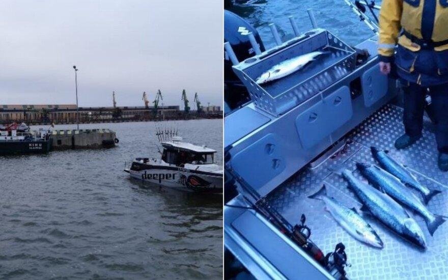 Baltijos jūroje tikrinami žvejai