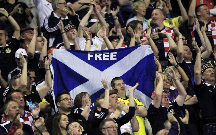 Škotų futbolo aistruoliai