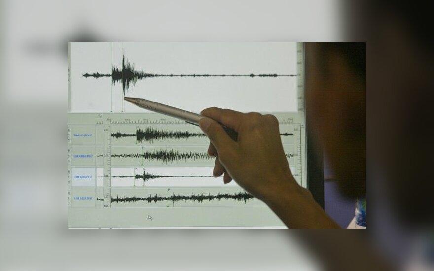 Irano rytus supurtė 6,1 balo žemės drebėjimas