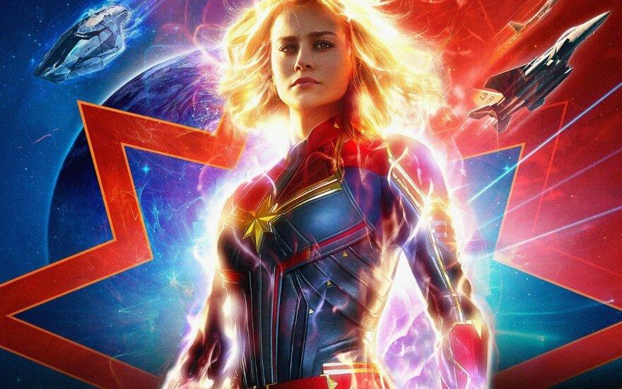 """Filmas """"Kapitonė Marvel"""""""