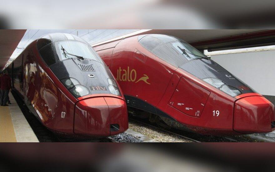 Kas priverstų žmones iš lėktuvų persėsti į traukinius?