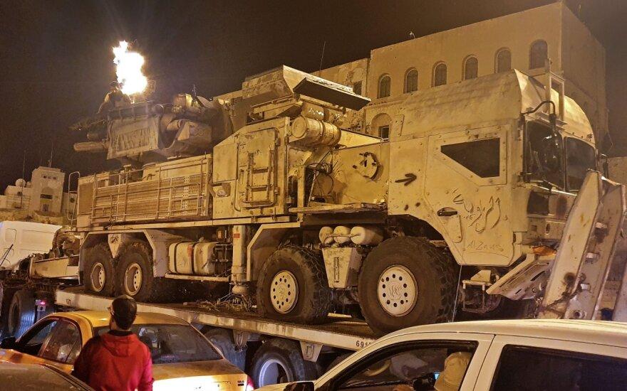 """""""Bloomberg"""": Libijoje atsitraukia šimtai Rusijos samdinių"""