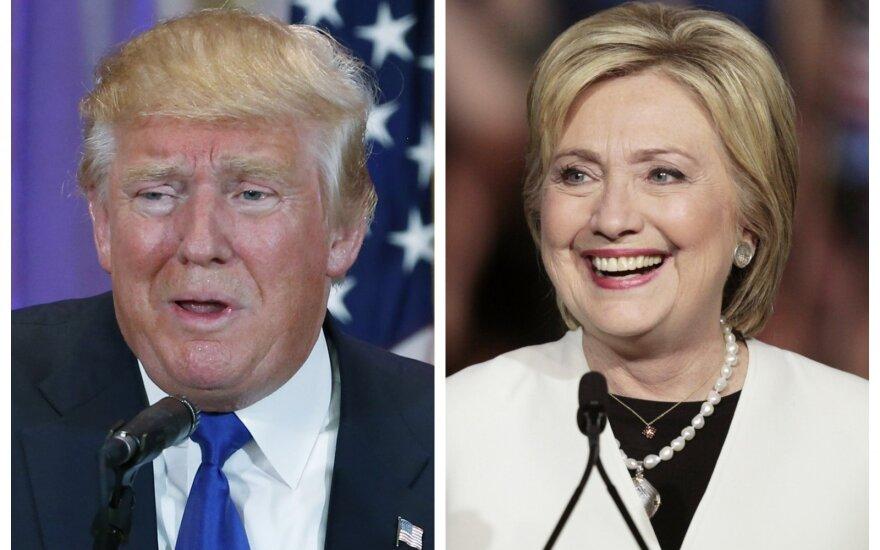 D. Trumpo triumfas: Vašingtone minima viena sąmokslo teorija