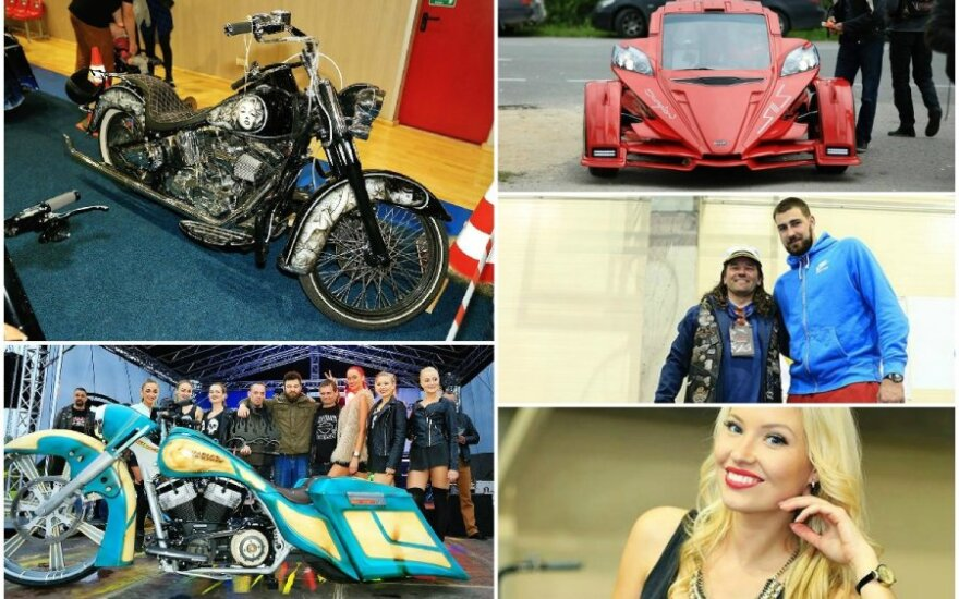 """Perdarytų motociklų renginys """"Rising Thunder 2015"""""""