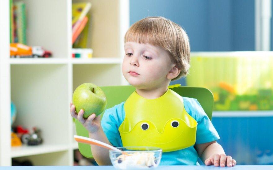 Kaip išmokyti vaikus valgyti sveikai?