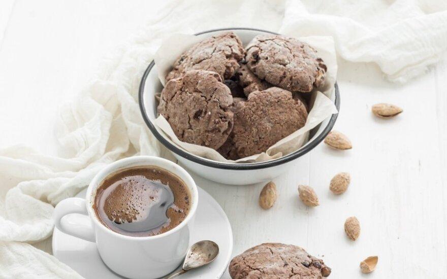 Sausainiai su kava