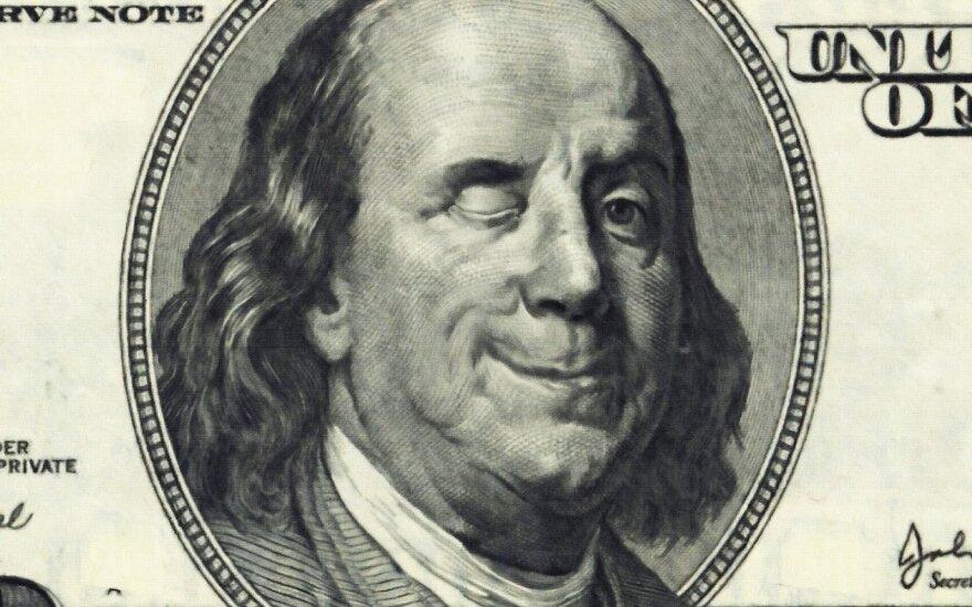 Besišypsantis Franklinas