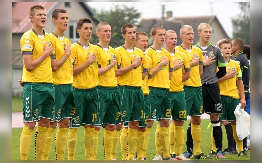 Lietuvos jaunių U17 futbolo rinktinė