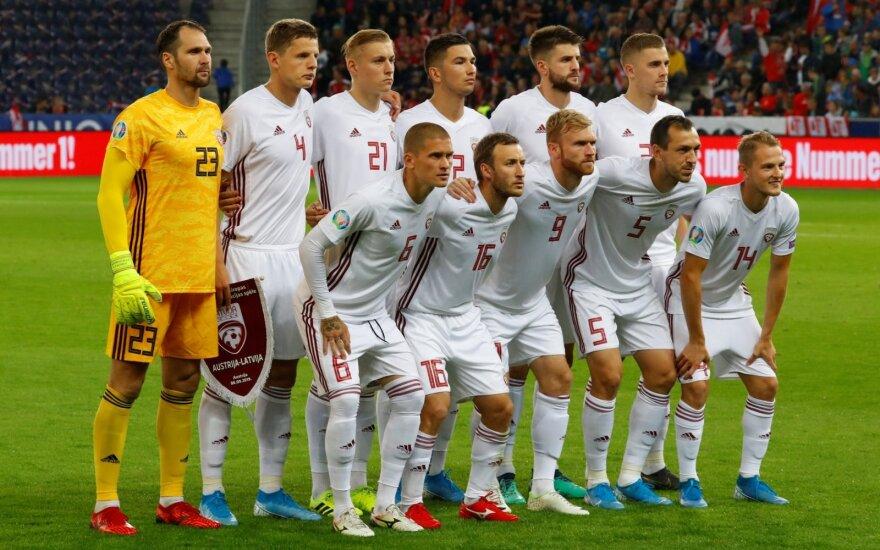 Latvijos futbolo rinktinė