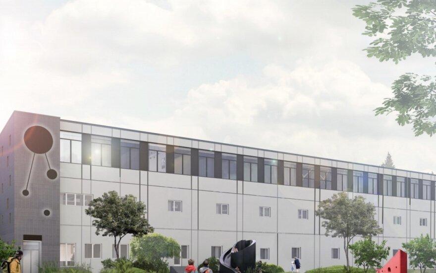 Karoliniškėse esančiame gamybiniame pastate planuojama įrengti butus