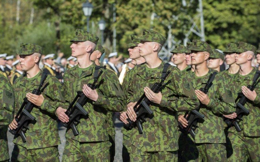 Apie 150 Lietuvos karių dalyvauja pratybose Estijoje