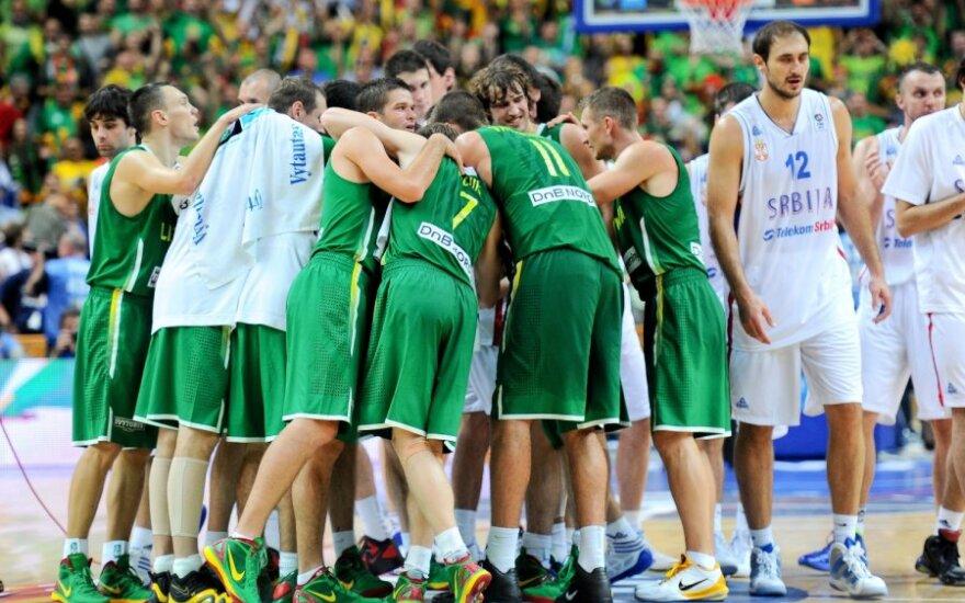 Lietuvos vyrų krepšinio komanda