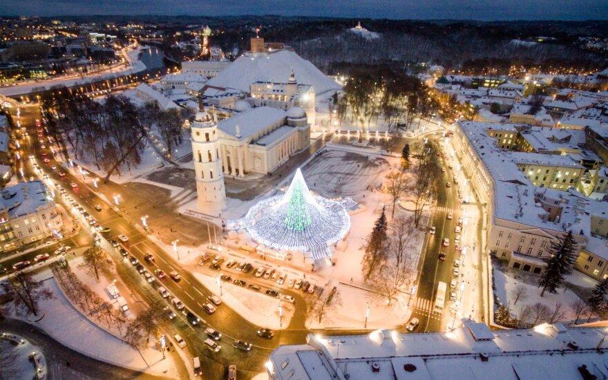 Kalėdinis Vilnius: vaizdai gniaužia kvapą