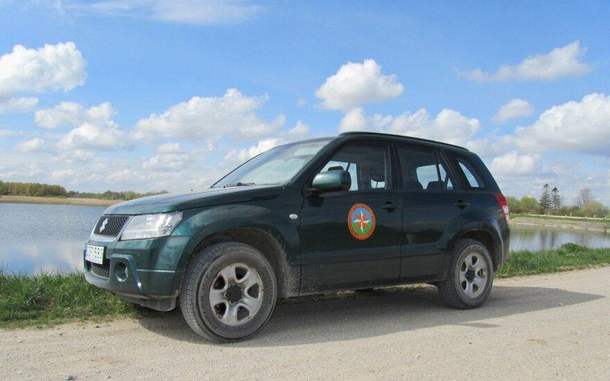Aplinkosaugininkų automobilis