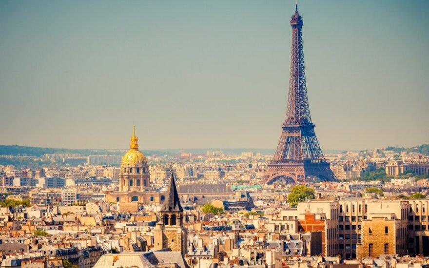 Prancūzija - labiausiai lankoma pasaulio šalis