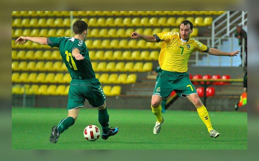 Lukas Martišauskis (kairėje) ir Vitalijus Kavaliauskas