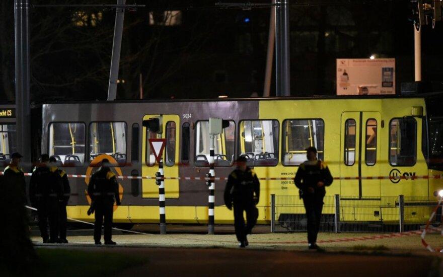 Nyderlandų policija šaudynių vietoje
