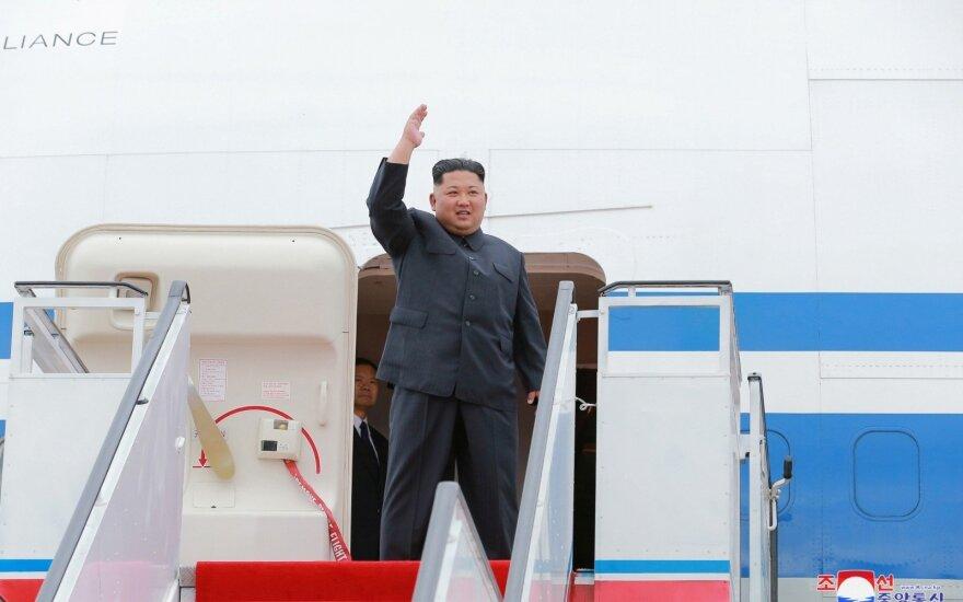 Kim Jong Unas gruodį ketina apsilankyti Seule, skelbia Pietų Korėjos žiniasklaida
