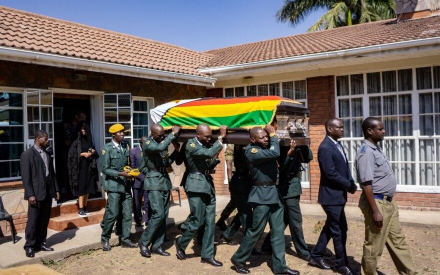 Roberto Mugabe laidotuvės
