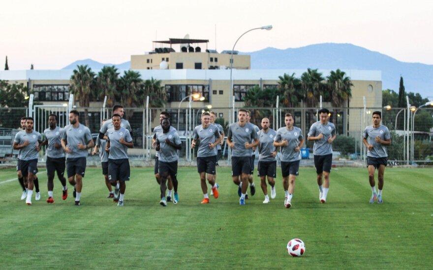 """Stumbro"" futbolininkai Kipre / Foto: Paulius Jakelis (fcstumbras.lt)"