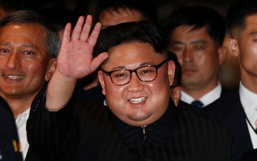 Rugsėjį bus surengtas naujas abiejų Korėjų lyderių susitikimas