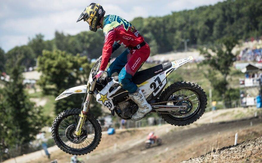 Arminas Jasikonis Pasaulio motokroso čempionate skinasi kelią link podiumo