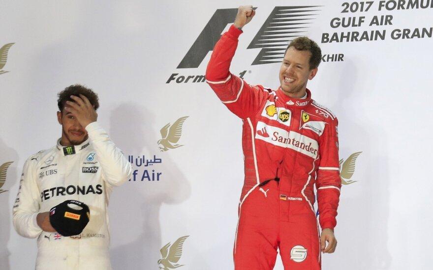 """Formulė-1"": Bahreino etapo lenktynės"